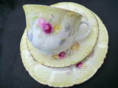 Beautiful COLLINGWOOD brothers late Victorian tea trio